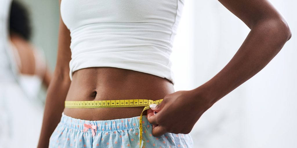 the results of the belly tonic